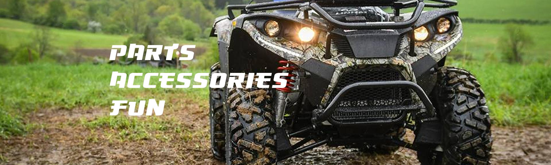 ATV Parts, UTV For Sale, Go Kart, Motocross Gear, & Mini